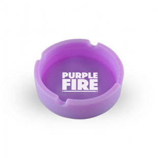 CINZEIRO DE SILICONE - PURPLE EDITION - GLOW IN THE DARK