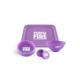 KIT SILICONE - PURPLE EDITION - GLOW IN THE DARK